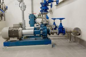 Pompen bedrijfswater