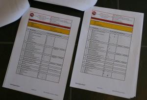 Checklist rapport (voorbeeld)