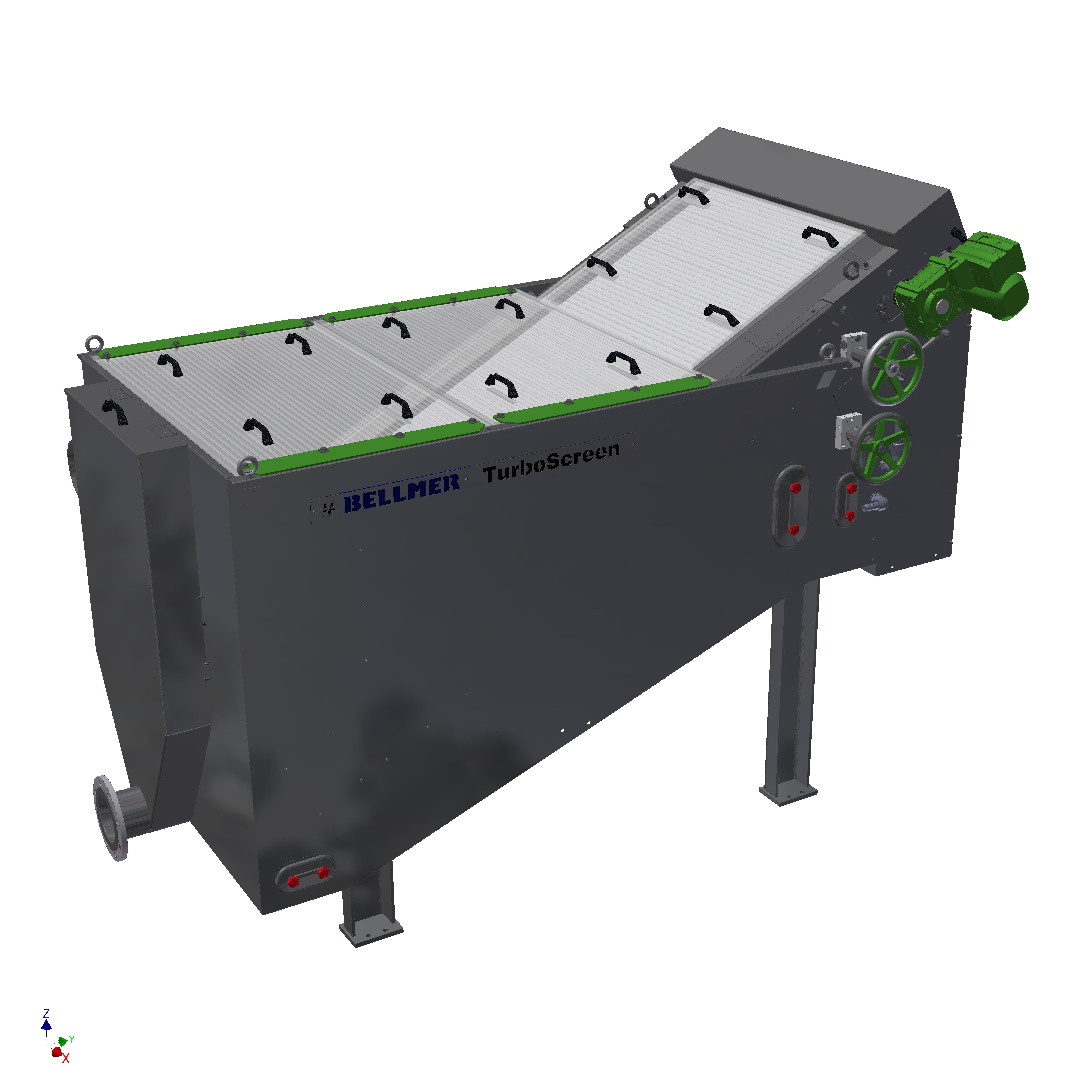 Fijnfilter (TurboScreen) Impressie