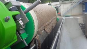 Fijnfilter (TurboScreen) vuilafvoer